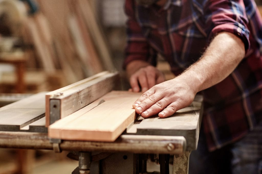 Working with wooden